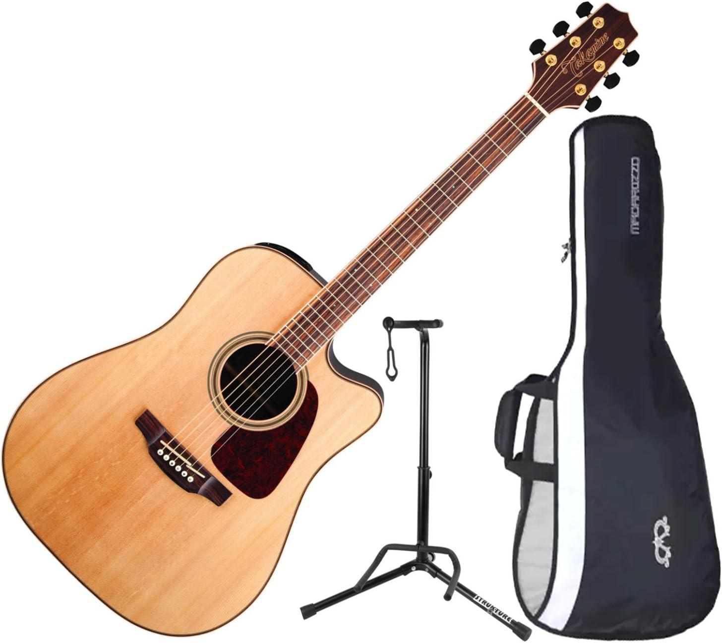 TAKAMINE gd93ce-nat acústica guitarra eléctrica w/funda y soporte ...