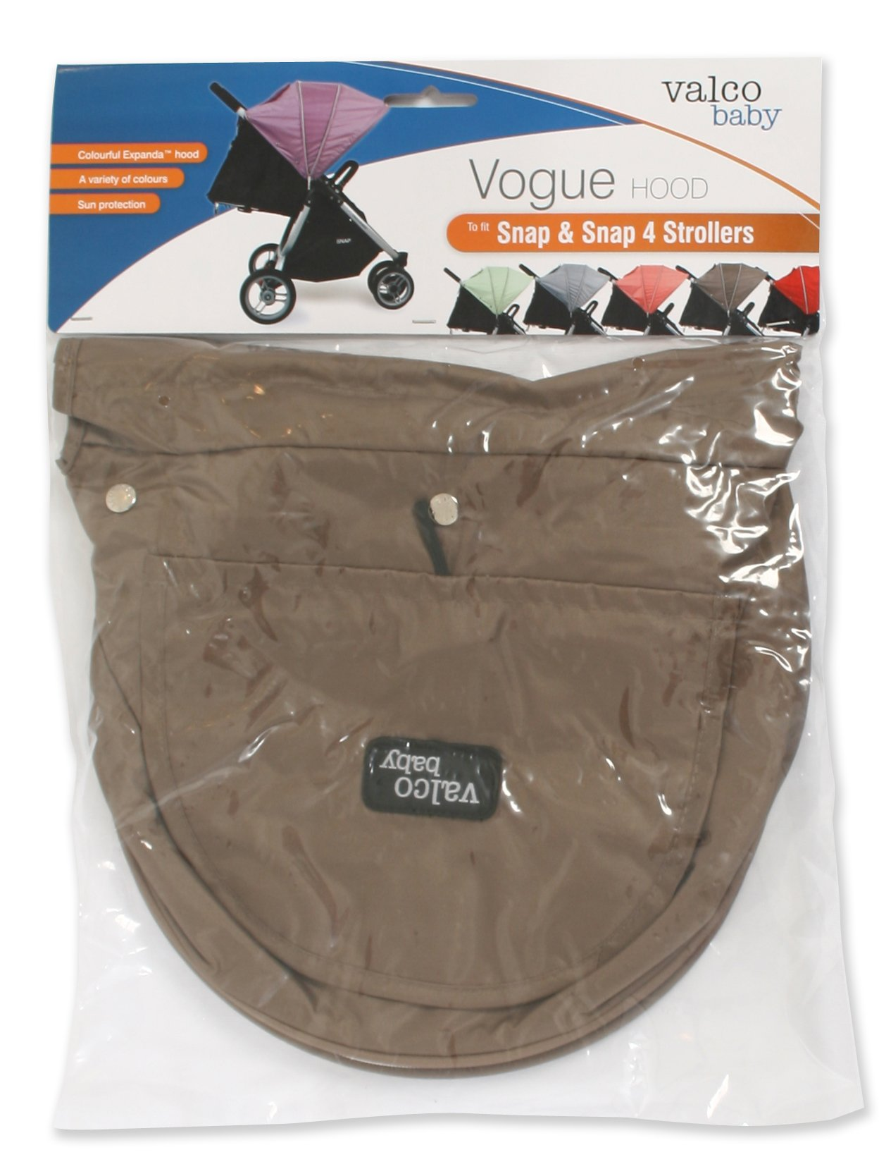 Valco Baby Snap & Snap4 Vogue Set (Hood, Bootie, Harness Covers) (Spice)