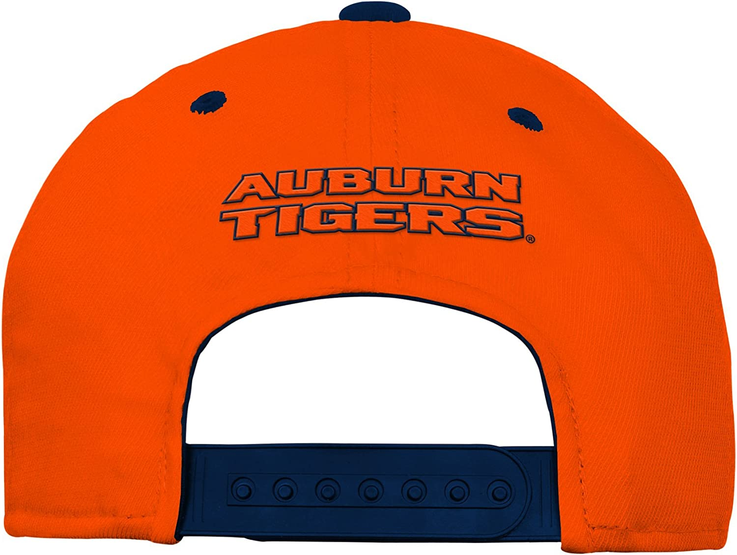 Youth One Size Team Color NCAA Auburn Tigers Youth Outerstuff Performance Structured Snapback Hat