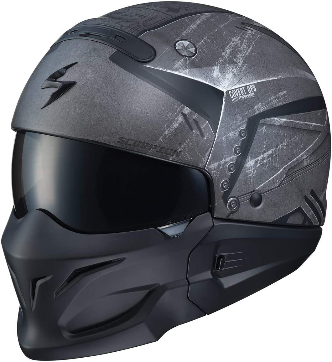 Scorpion Covert Helmet - Incursion (X-Large) (Black/Grey)