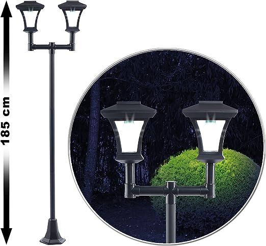 Royal Gardineer – Solar Jardín Lámpara: (2 Luces LED Solar de ...