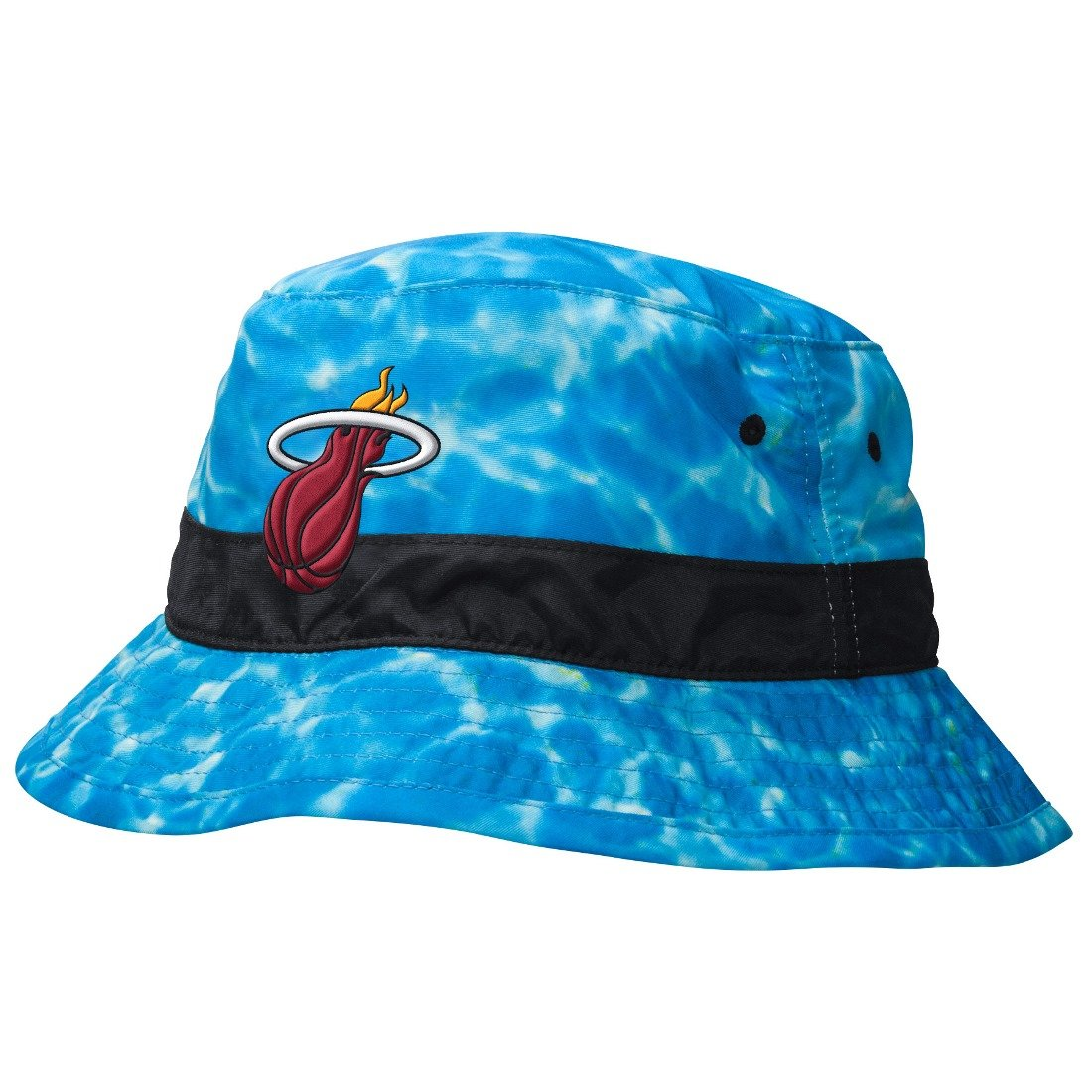 Miami Heat Mitchell & Ness NBA ''Surf Camo'' Bucket Hat
