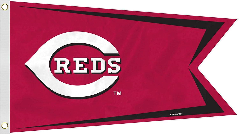 MLB Cincinnati Reds Boat and Golf Cart Flag