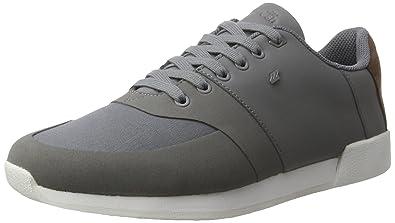 Boxfresh Herren Umemoto Sh Gdye/Lea STL Gry Sneaker