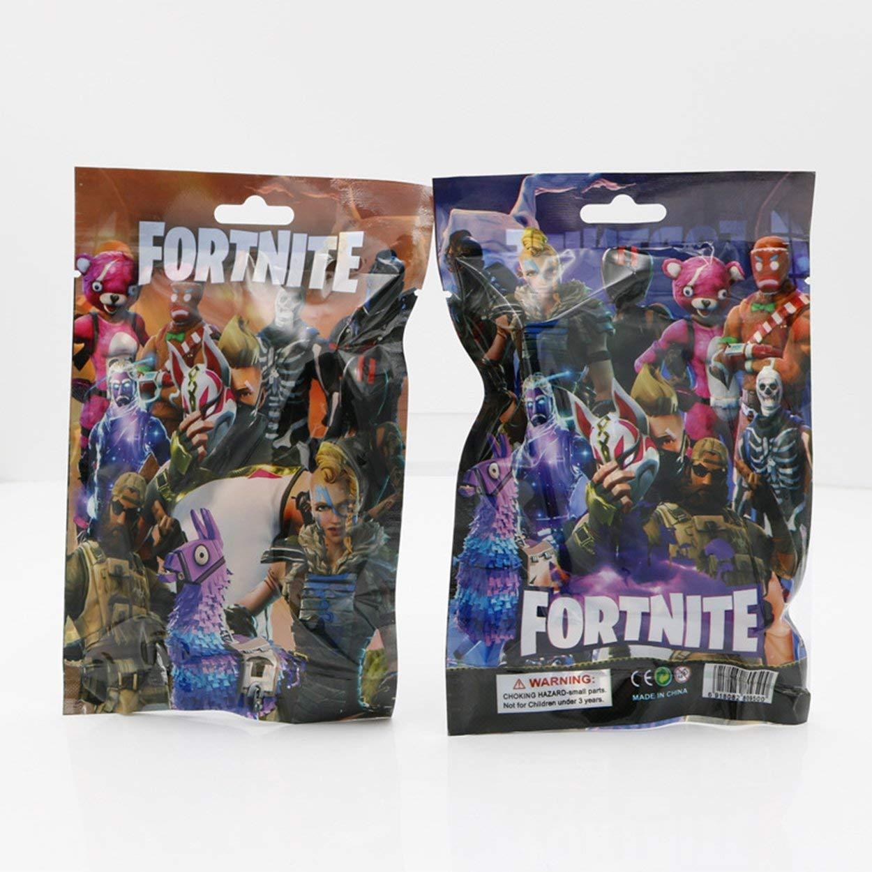 Lorenlli Juego de juguete con forma de personaje Fortnite Figura de juego Modelo de juego Inspirado en la colección de regalos de videojuegos Fortnite de 13 ...