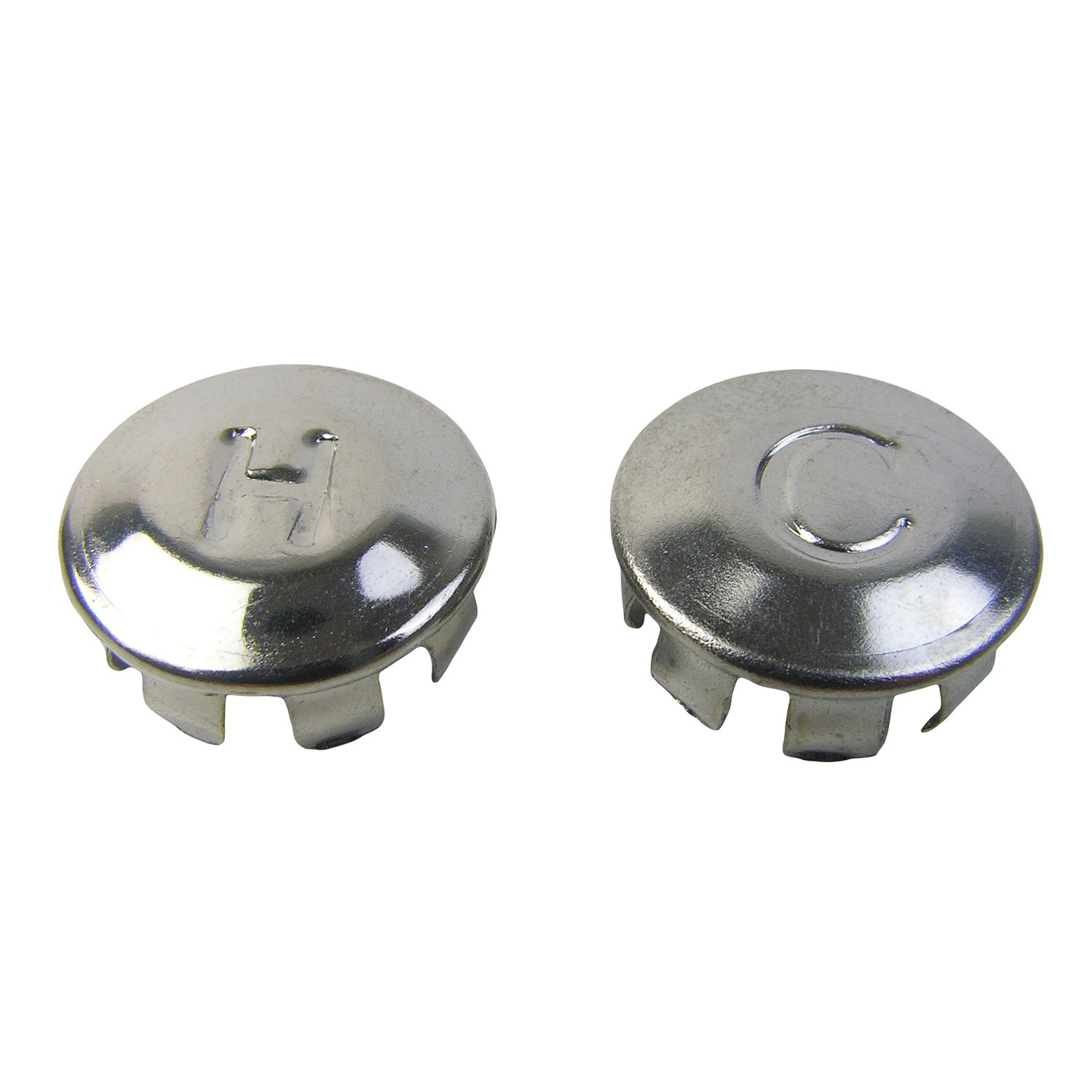 LASCO 0-6009 Hot/Cold Faucet Handle Index Buttons for Price ...
