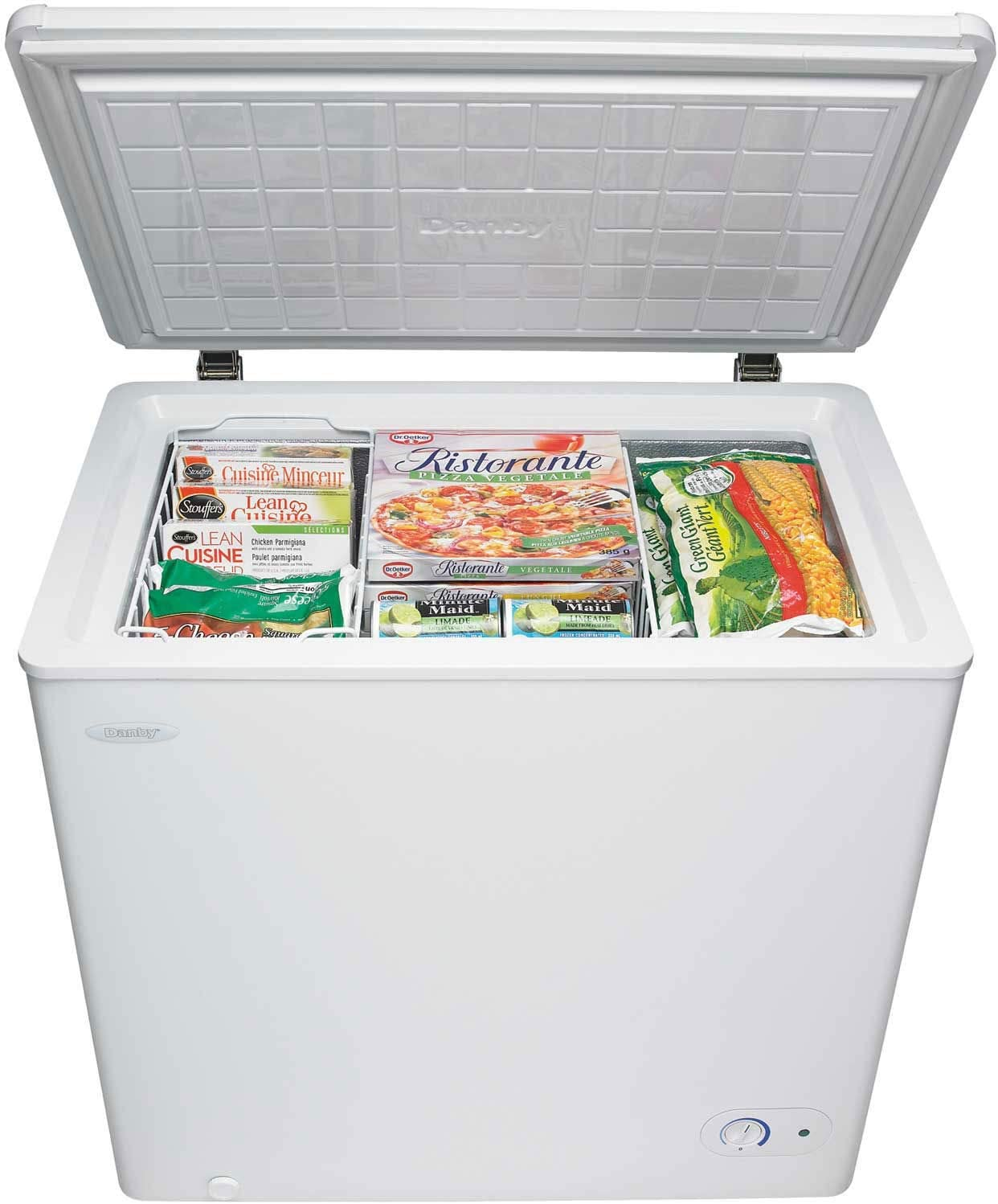 Danby 5.5-Cu Ft Chest Freezer in White