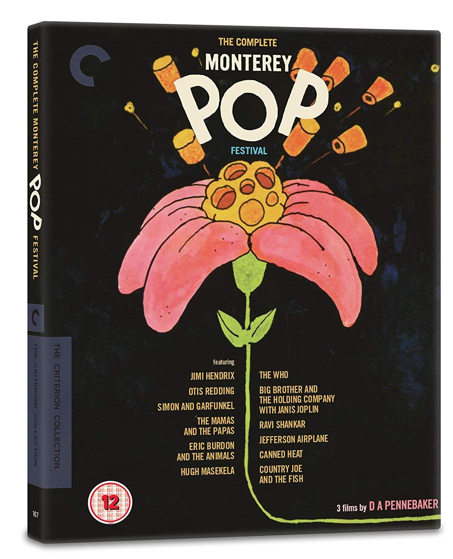 The Complete Monterey Pop Festival - The Criterion Collection [Region B] [Reino Unido] [Blu-ray]