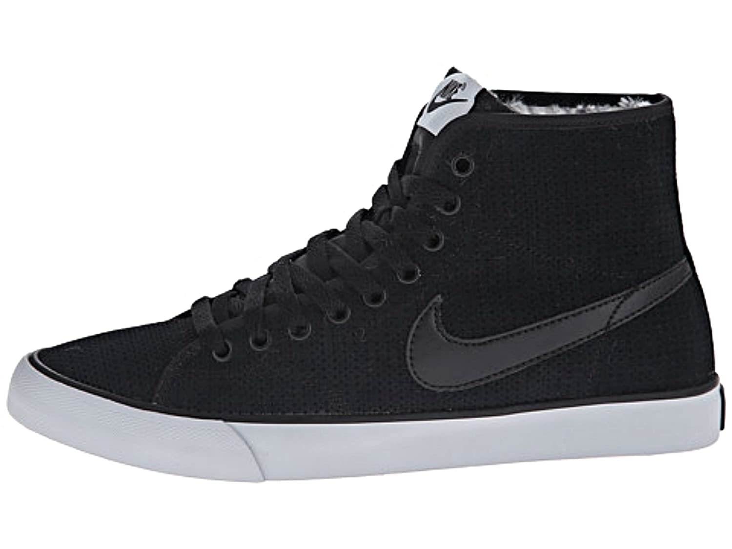 60d3159be624 durable service NIKE women s Primo Court Mid Suede Winter Sneakers Shoes.