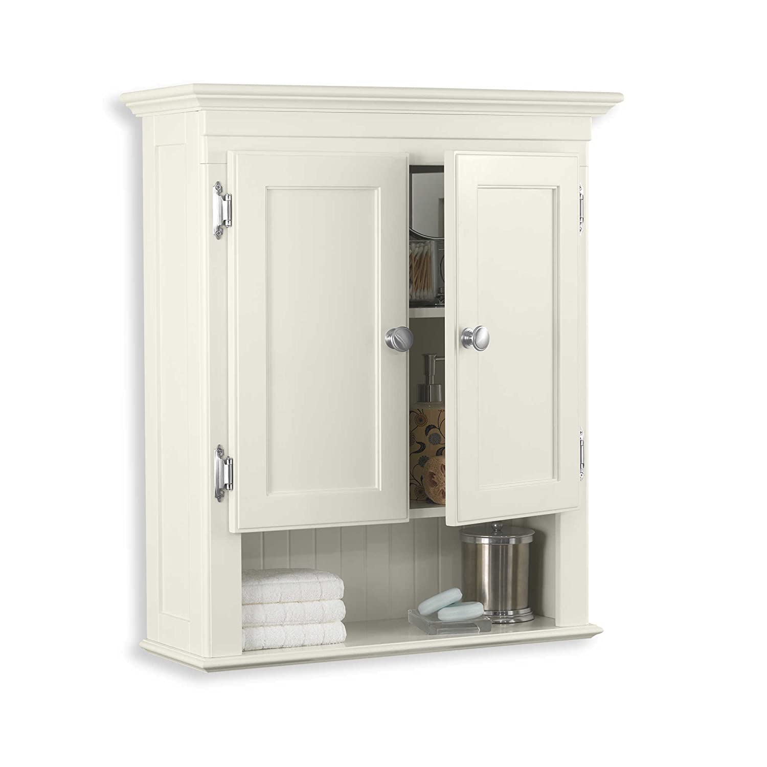 Amazon Fairmont Bathroom Wall Cabinet Ivory White Kitchen