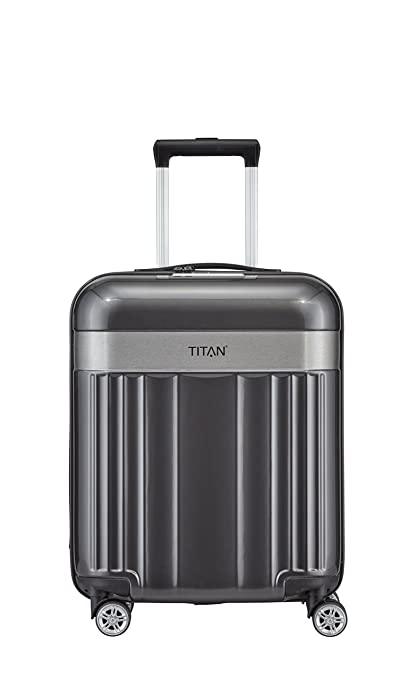 fc69d1464 TITAN Spotlight Flash 4w S, Anthracite, 831406-04 Hand Luggage, 55 ...