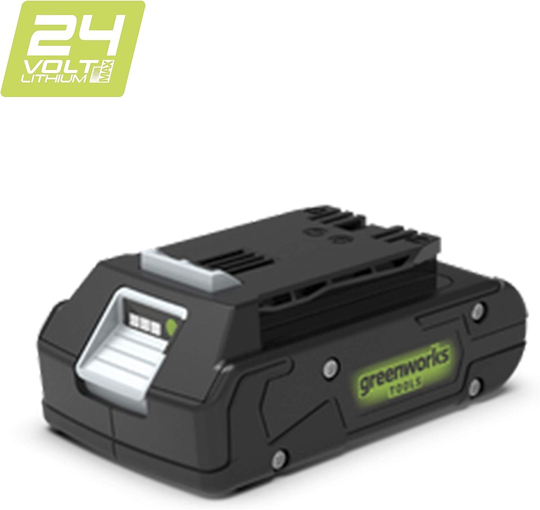 Greenworks tools G24B2 - Batería de 24V 2Ah, 43.2Wh