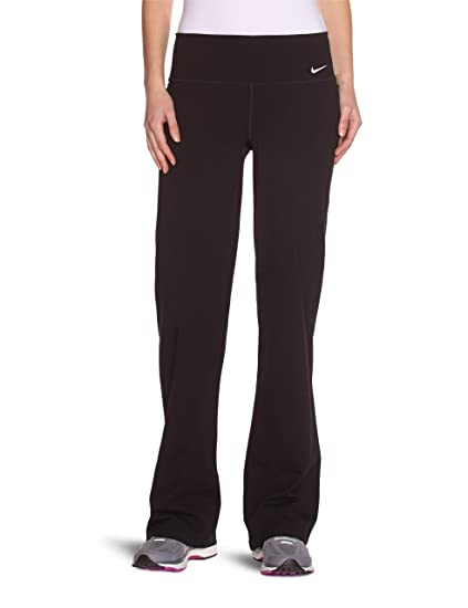 Nike Womens Regular Fit Dri-Fit Yoga Pants Black