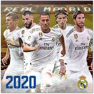 ERIK - Real Madrid 2020 Wall Calendar, 16 Months, 30 x 30cm