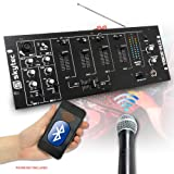 Skytec STM-3018A Bluetooth Mixer/Amplifier With VHF Microphone