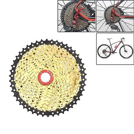 LIDAUTO MTB Ciclismo Rueda Libre Bicicleta Piñón Rueda Casetes de Bicicleta Ruedas Libres Amplio Ratiof Compatible