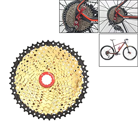LIDAUTO MTB Ciclismo Rueda Libre Bicicleta Piñón Rueda Casetes de ...