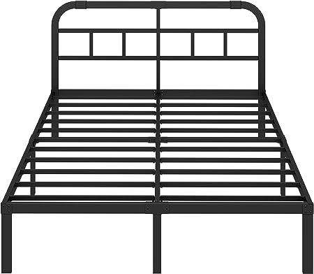 Amazon Com Ziyoo King Size Bed Frame With Headboard 3000lbs