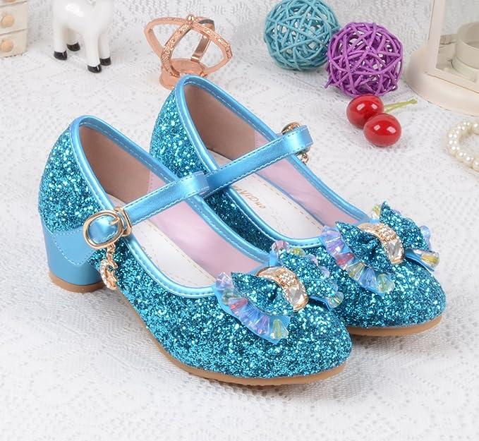 La Vogue Girls Soft Open Toe Princess Flat Shoes Summer Sandals