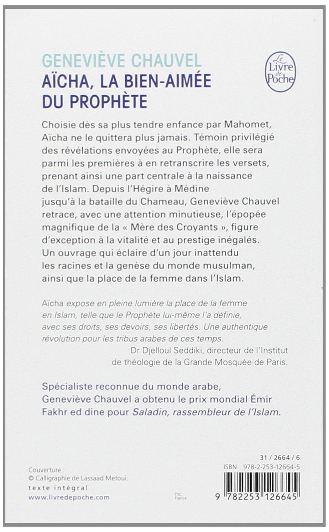aicha la bienaimée du prophète pdf