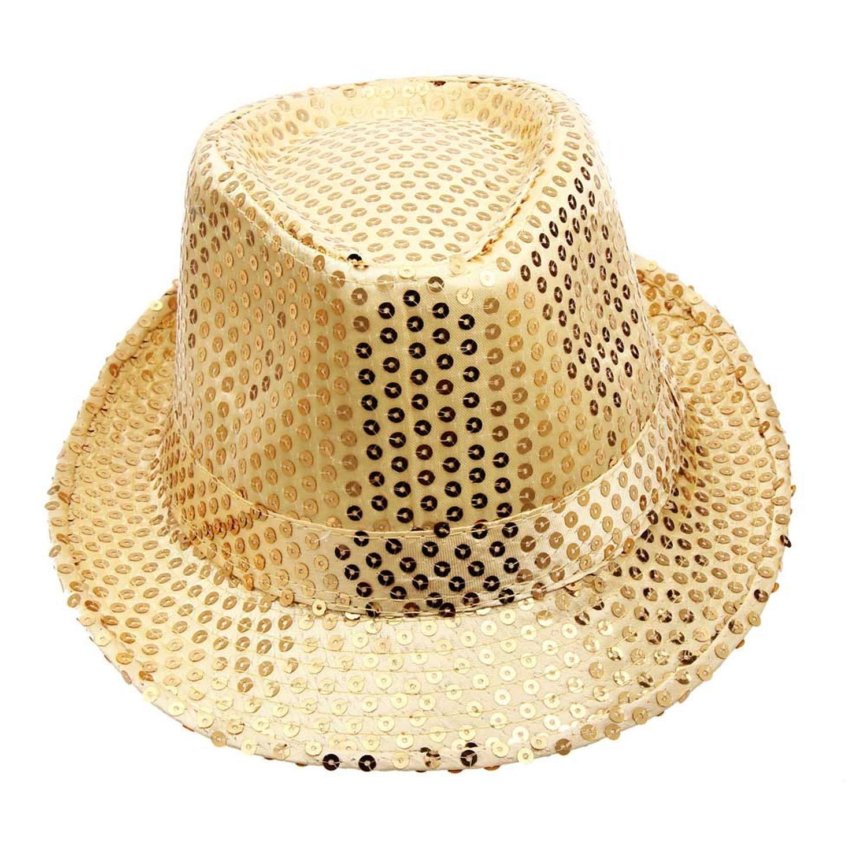 Hat Gentlemen Dance Stage Show Performances Party Hat Patch Men Women Bright Show Hat