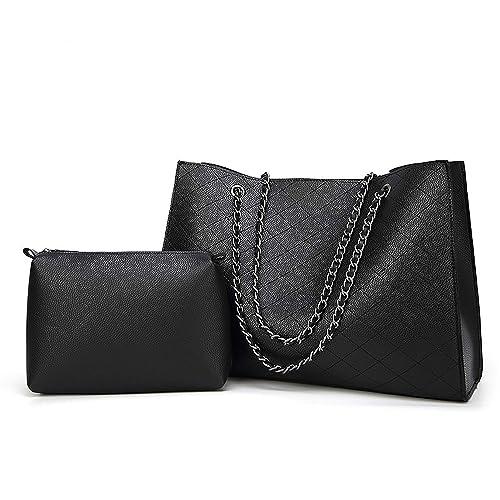 Amazon.com: Bolsas de cuero Bolsas de mujer Bolsas grandes ...