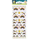 Craft Planet Fun Stickers - Rainbows