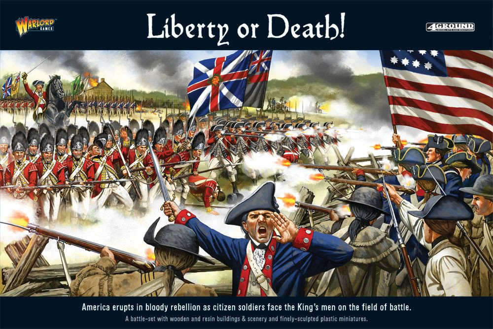 ''liberty Or Death'' American War Of Independence Battle Set