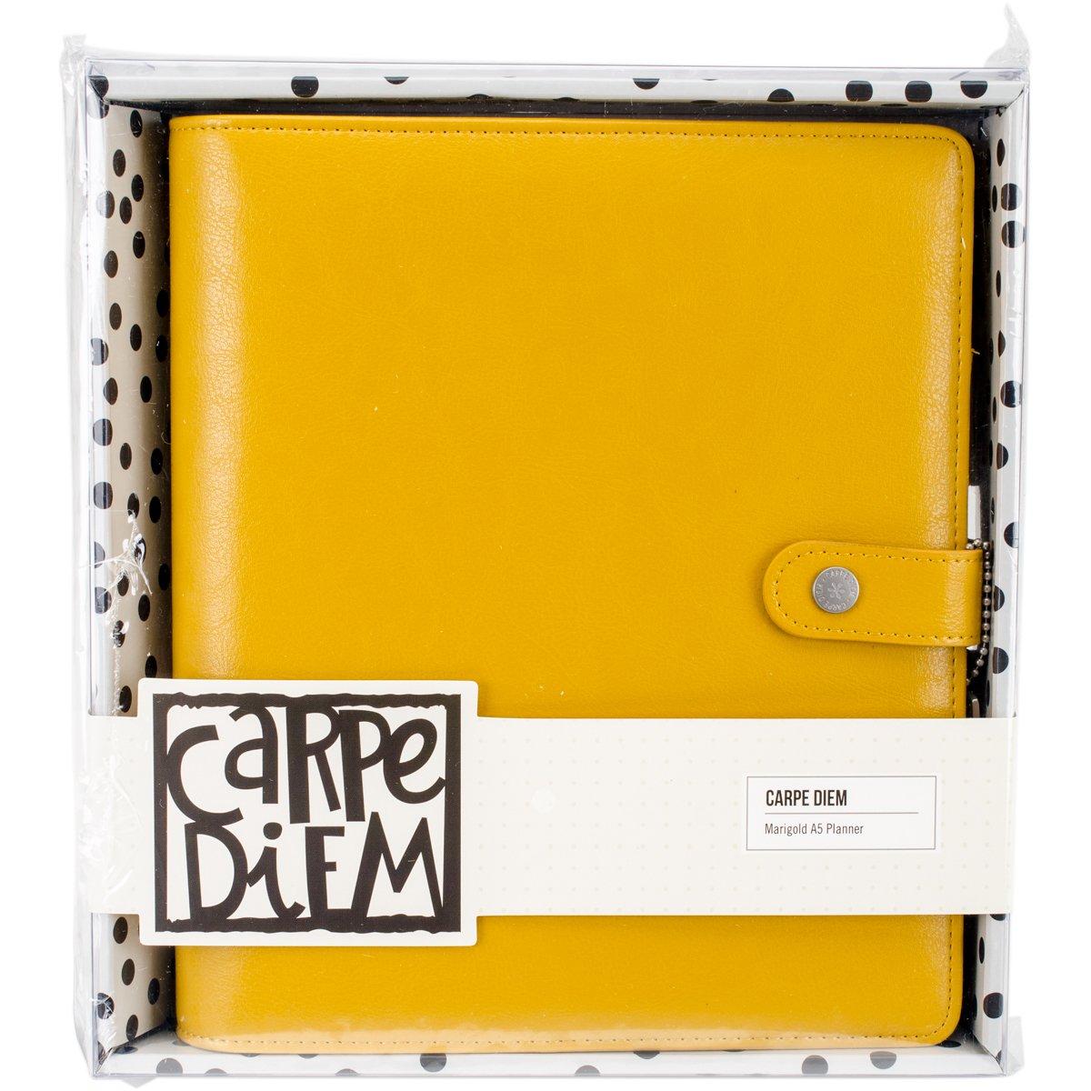 Simple Stories carpe Diem Platinum planner, marrone, A5 4935