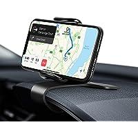 Eono Amazon Brand Soporte Móvil Coche para Salpicadero, HUD Sujeta Telefono con Rotación Flexible de 360°, Compatible…