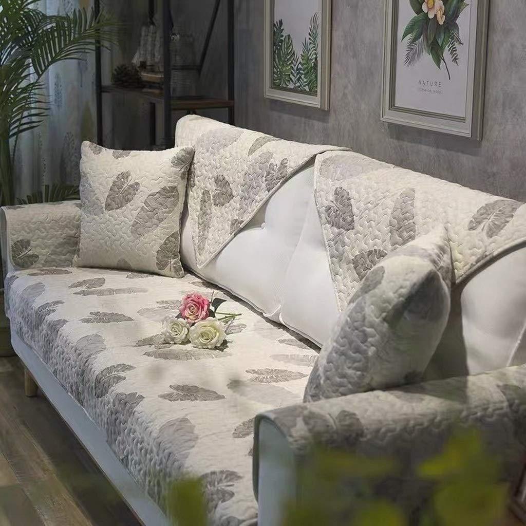 Funda de Funda de sofá de algodón nórdico, Funda de sofá ...