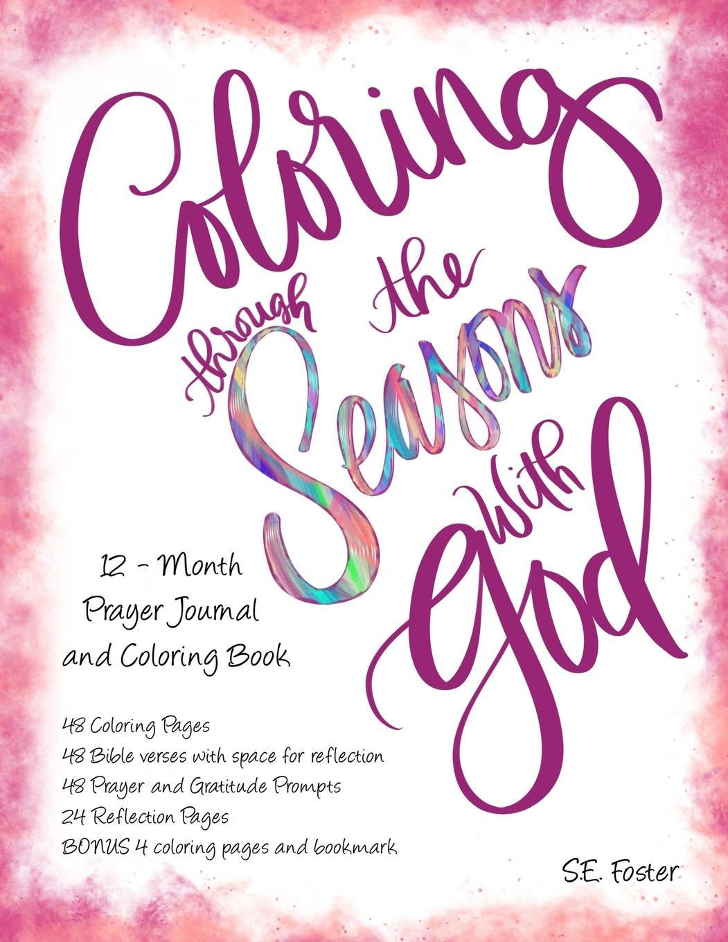 Coloring Through the Seasons with God: 12 - Month Prayer Journal with Coloring Pages PDF
