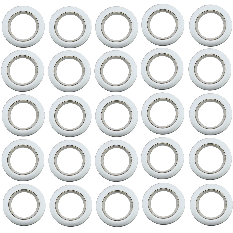 85 pz Nano Tenda Plastica Romana Occhiello Anelli per Tende da Doccia Nastro Contiene Accessori Decorazione
