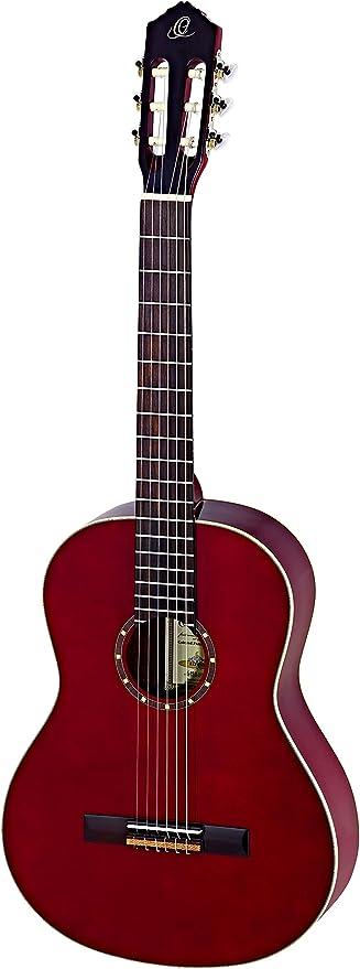 Ortega R121LWR Zurdos Guitarra Clásica (acabado de alto brillo ...
