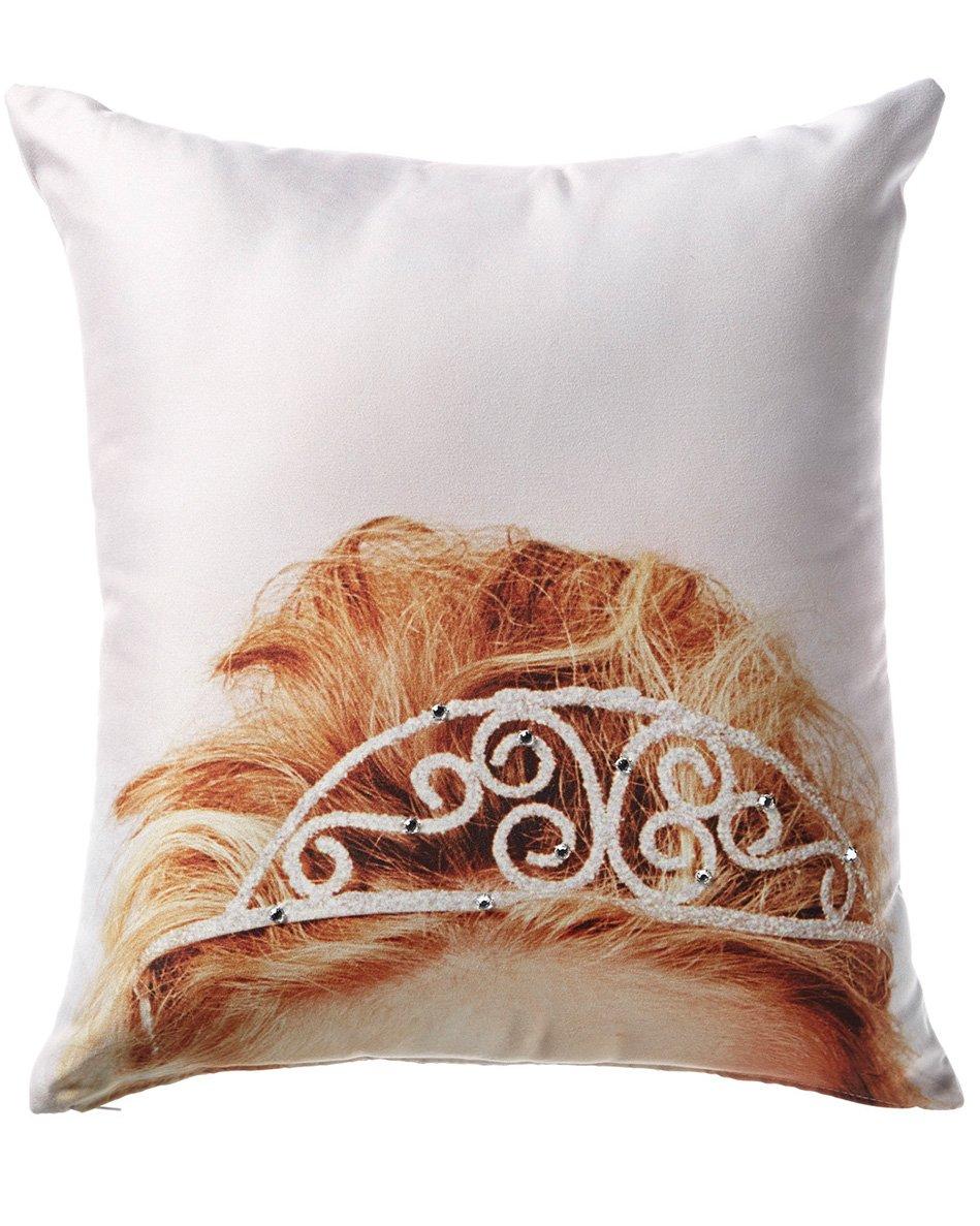 W Dallas Hotel Decorative Tiara Pillow
