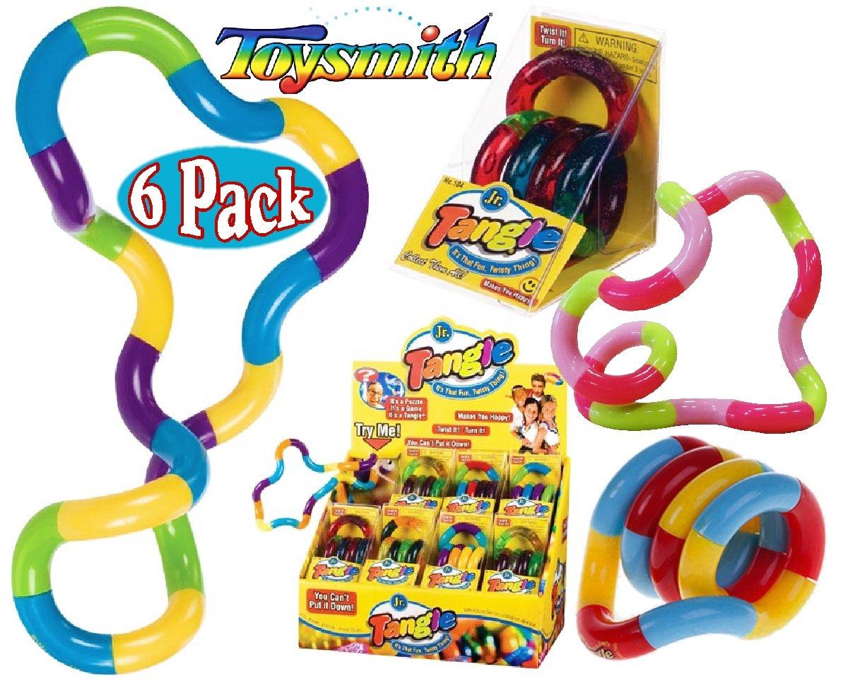 Tangle Jr. Original Classics Bulk Bundle Assortment - 6 Pack