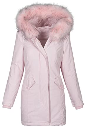 Golden Brands Selection Damen Winter Jacke Parka Mantel Winterjacke warm  gefüttert lang B433  Amazon.de  Bekleidung 71533bb827