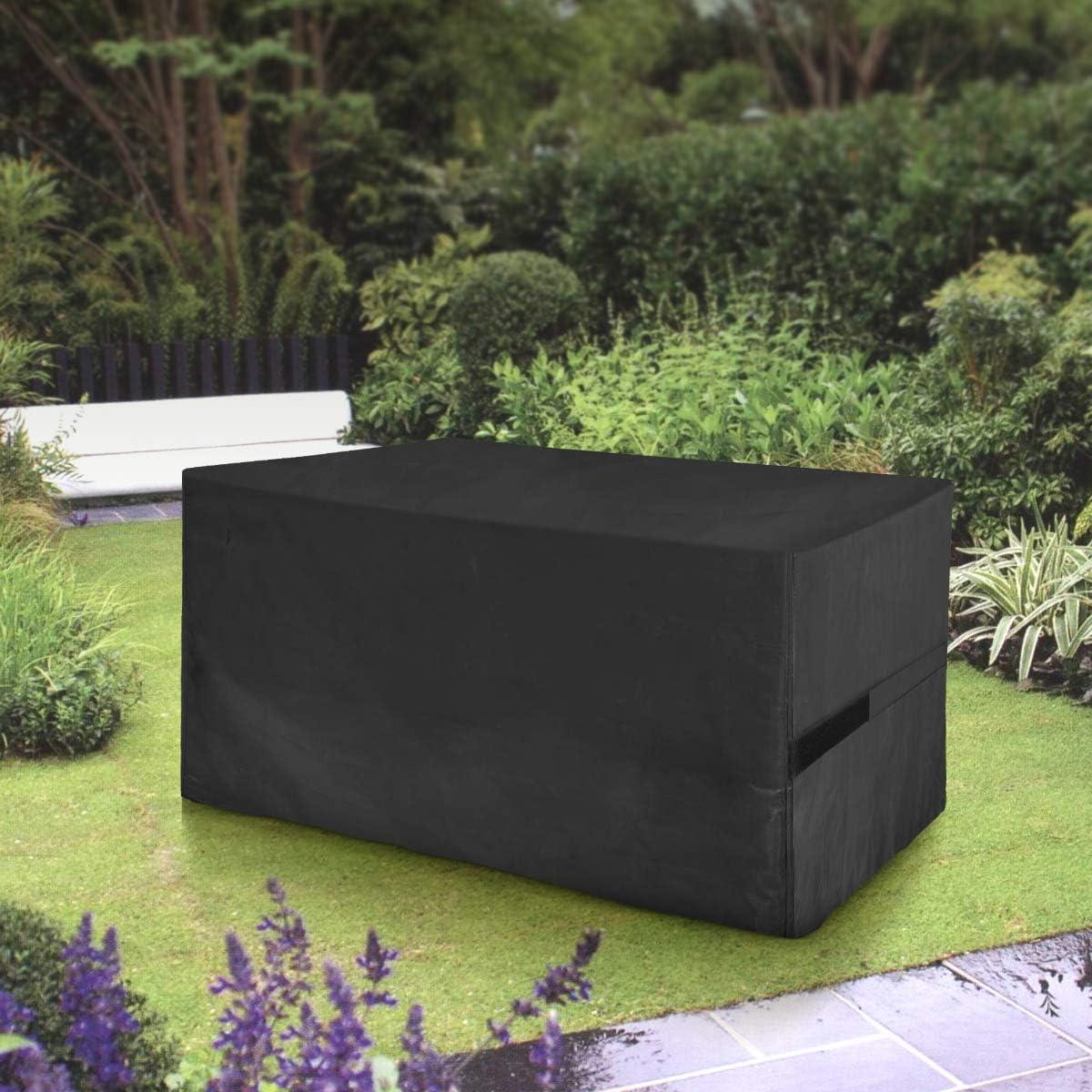 FlyLemon Fundas Muebles Jardin, Tela 420D Impermeable Anti-UV Patio Protectores con DiezTamaños(200 * 160 * 70 cm): Amazon.es: Jardín