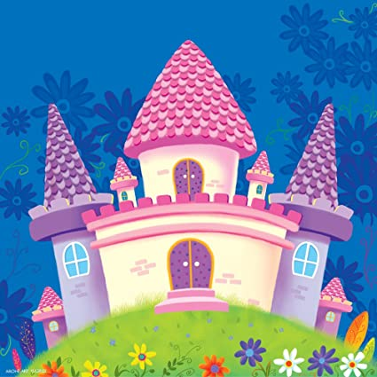 Arohi Art World, Castle Painting For Kids Room Wall Decor Wall Hangings  Baby Room Decor