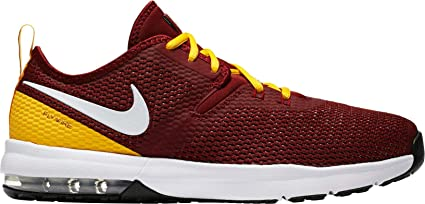 super popular ae364 4ae81 ... NIKE Men s Air Max Typha 2 Redskins Training Shoes (Red Yellow, 8 M ...