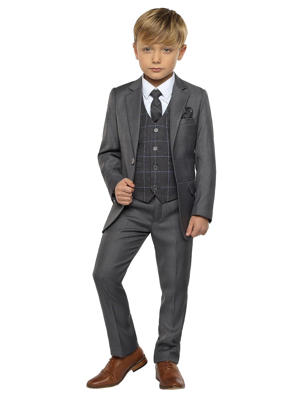 eb208249ca3e Paisley of London Boys Grey Suit