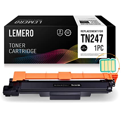 LEMERO Compatible TN-247 TN-243 TN247 TN243 Toner [con Chip] para ...