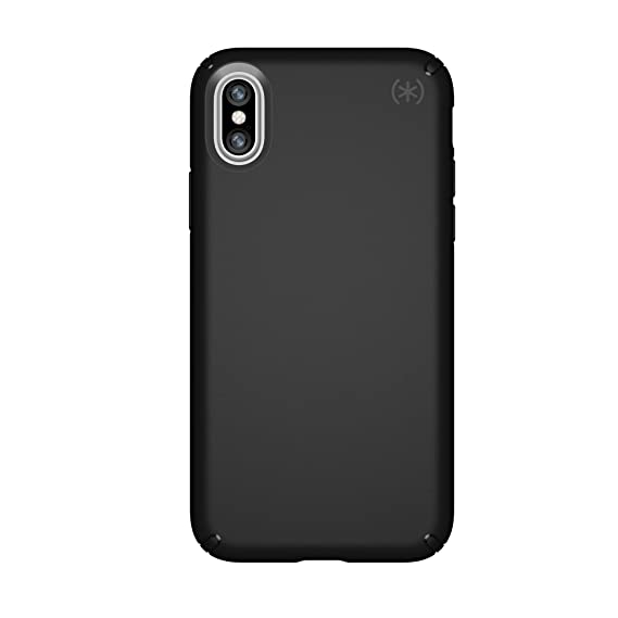 finest selection 6954d 091eb Speck Products Compatible Phone Case for Apple iPhone Xs and iPhone X,  Presidio Mount Case, Black/Black