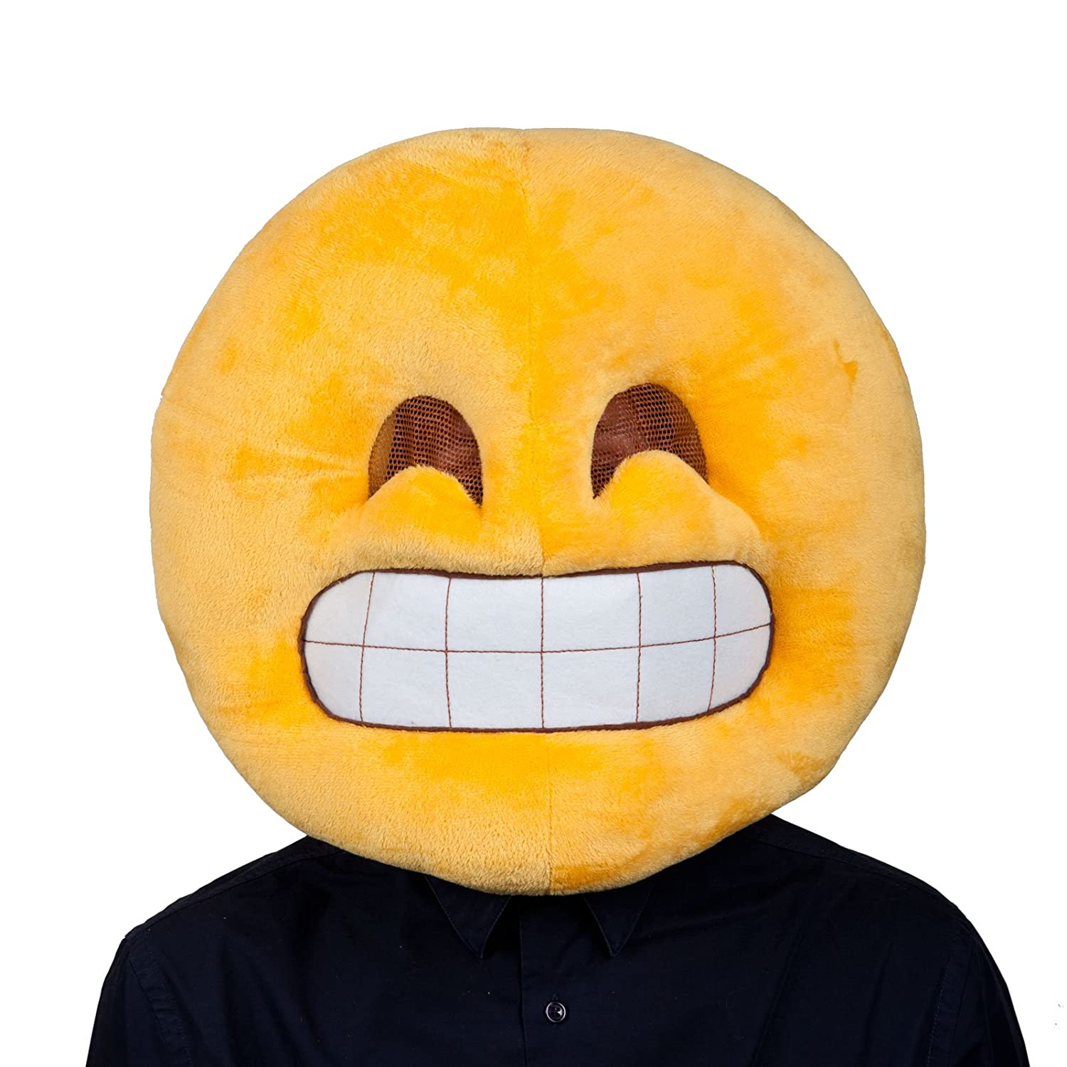 Classic smiley costume face adult