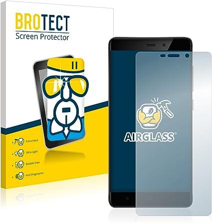 BROTECT Protector Pantalla Cristal Compatible con Xiaomi Redmi 4 ...