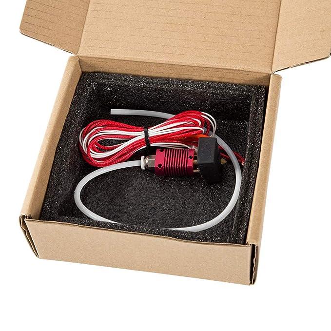 Webla For Mk8 Kit de Extremo Caliente Para Extrusora de Impresora ...