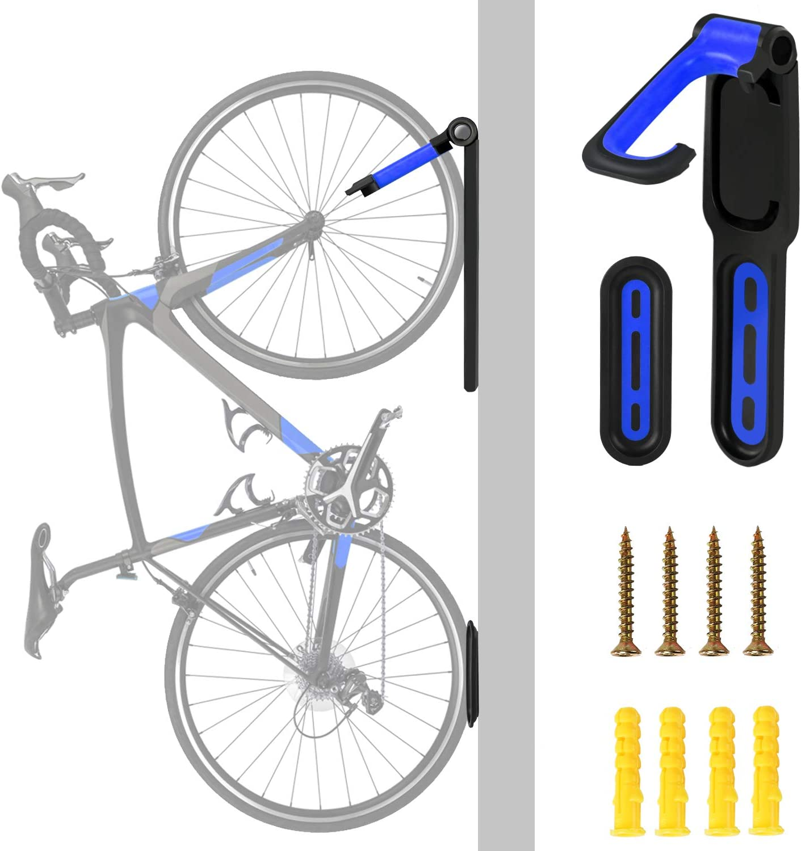 Single Bicycle MTB Storage Wall Rack Space Saving Hanger Parking Hook Bike Stand