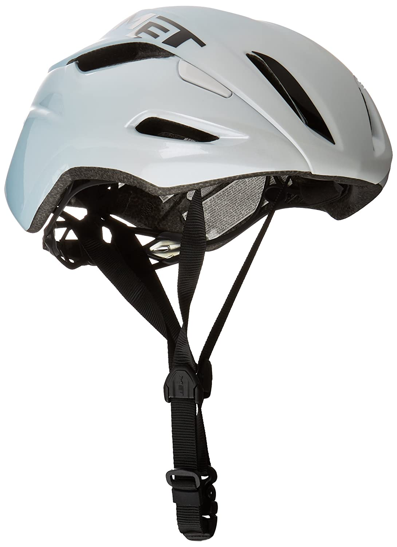メット マンタ HES ホワイトライトブルー ヘルメット L(59/62cm)   B01LX8IAG5