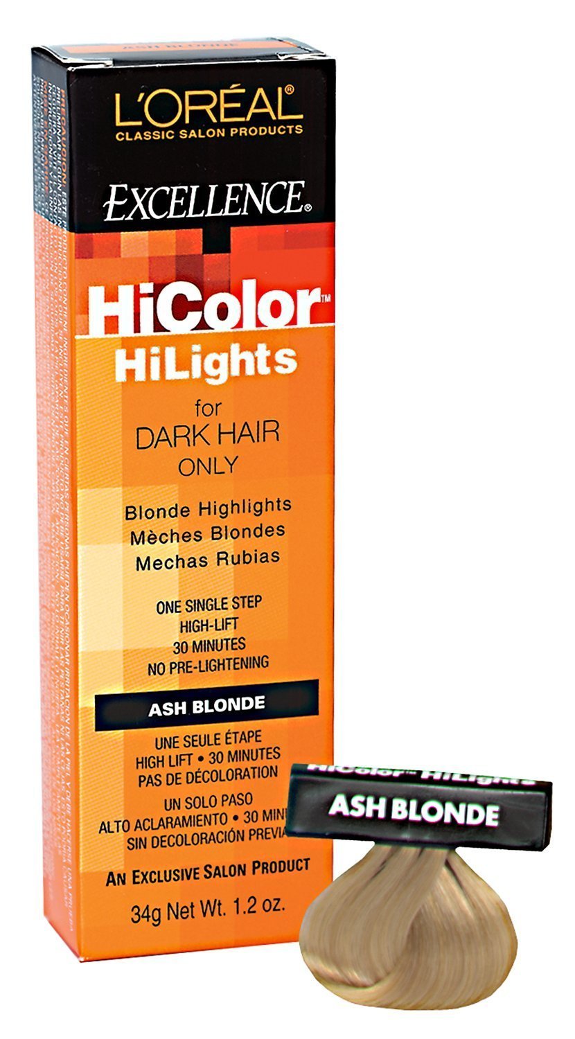 L'oreal Excellence Hicolor, Blond/Ash Highlights, 1.2 Ounce by L'Oreal Paris