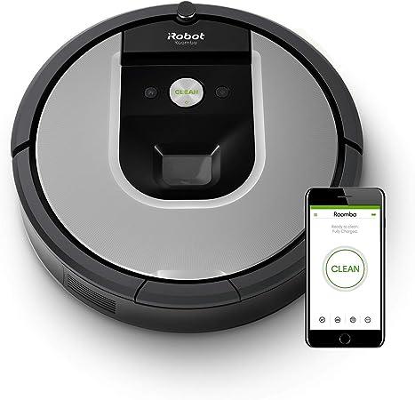 Robot Aspirador iRobot Roomba 971 WiFi, succion x5, 2 cepillos ...